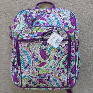 Disney Vera Bradley Plums Up Campus backpack